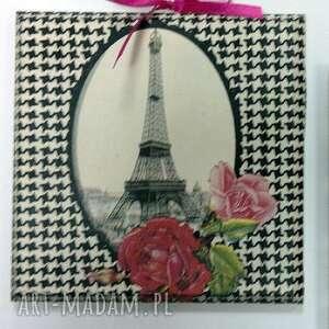 obrazek - paris paris - obraz, obrazek, decoupage, paryż