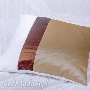 poduszki poduszka w pasy, poduszka, tafta, poliester, ozdobna