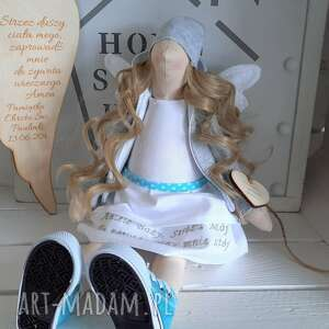 lalki anioł pamiątka pierwszej komunii świętej, anioł, lalka, pamiątka, chrztu