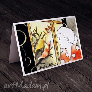 Karteczka dla Babci, babci, życzenia, kartka, urodziny, imieniny