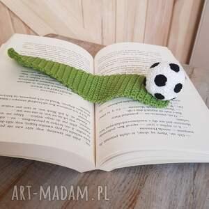 zakładka do książki piłka nożna, książki, dla chłopca