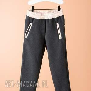 spodnie dsp02g - bawełniane, wygodne, dresowe