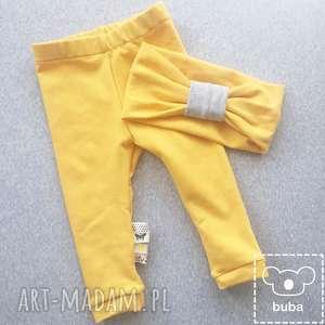 zestaw legginsy z metkami i opaska, legginsy, dresówka, buba