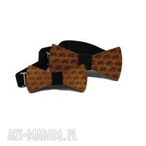 Rowery zestaw muchy i muszki the bow ties muchy, drewno, zestaw,