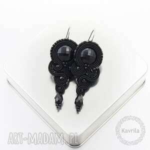 Kolcztki soutrache lasila black kavrila wieczorowe, stylowe