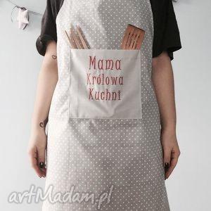 fartuch mama królowa kuchni - ,mama,dzienmamy,mamusia,królowa,fartuszek,fartuch,