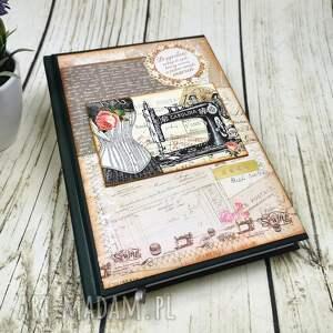 kalendarz książkowy 2022 t5, kalendarz, planer, notes, terminarz, krawiecki