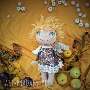 pokoik dziecka e-piet aniołek - dekoracja ścienna figurka tekstylna ręcznie
