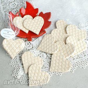 pracownia ako prezenty dla gości, upominki, weselne, goście, serca, ceramiczne