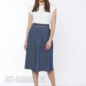 Klasyczna rozkloszowana spódnica, sp120 jeans spódnice lanti