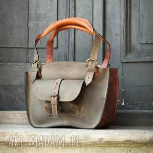 na ramię mała podręczna torba w unikalnych kolorach od polskich projektantów