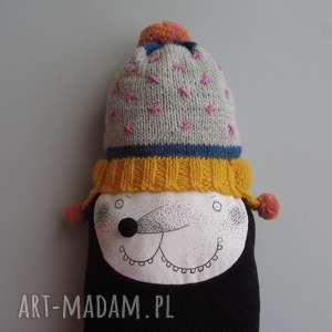 Prezent Krecik RICHARD - na zamówienie, kret, krecik, polar, pompon, czapka, prezent