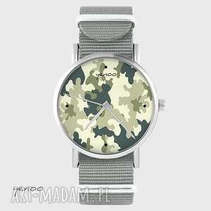 yenoo zegarek - moro szary, nato, zegarek, bransoletka, moro, unikatowy