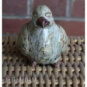 gołąb, ceramika, ptak