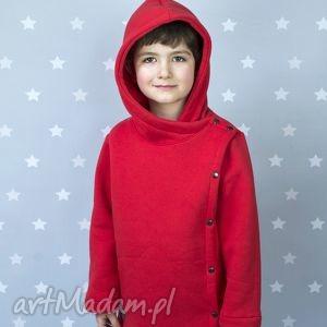 Płaszczyk czerwony - large size, płaszcz, płaszczyki