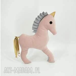 maskotki konik jednorożec, konik, koń, przytulanka, koń z grzywą