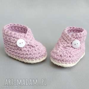 unikalny, zamówienie p klaudii, buciki, bawełniane, niemowlęce, prezent buty