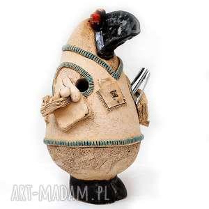 Bibliotekarz - ceramiczny piórnik , ceramika, użytkowe, unikatowe, piórnik, rzeźba