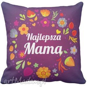 poduszka kwiaty najlepsza mama 6526, mama, mamy, dzień poduszki dom
