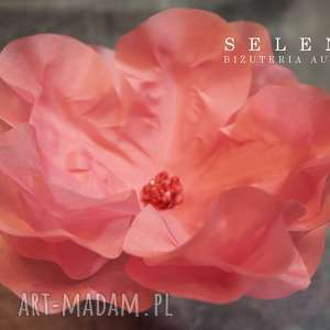 Jedwabny kwiat, jedwab, ozdoba