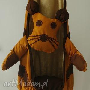 pokoik dziecka huśtawka kokon tygrys pokojowa ogrodowa hand made 100 naturalna 120 kg