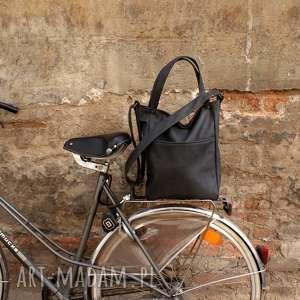 IKS pocket grafit vegan, torba, torebka, listonoszka, grafit, szary