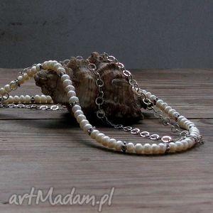 nszyjnik z pereł, naszyjnik, perły, prezent, święta, biżuteria, autorska