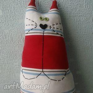 bardzo długi kot zabawka-poducha - kot, kotek, długi, ogon, podłużny