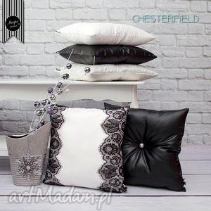 zestaw 2 poduszek chesterfield, dom, dekoracje, poduszki