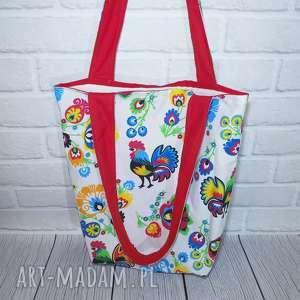 eco torba bawełniana, torba, ecotorba, szoperka, prezent, kolorowa, folk