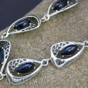 a290ed57eccde1 ... bransoletki bransoletka noc kairu w srebrze, bransoletka, srebro, noc,  kairu, ażurowa