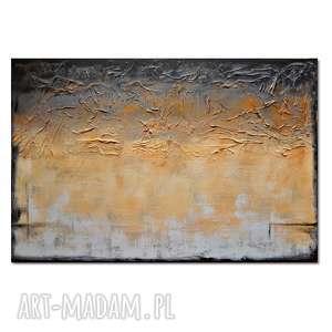 Tierra del Oro 2, abstrakcja nowoczesny obraz ręcznie malowany, obraz,