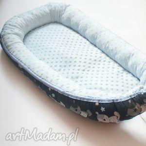 kokon niemowlęcy, kokon, dziecko, łóżeczko, minky, bawełna pokoik dziecka, oryginalny