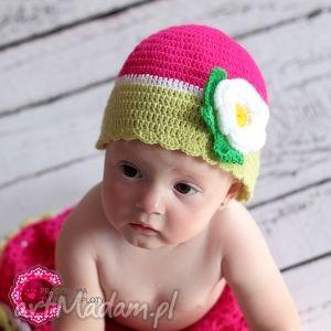 oryginalny prezent, czapeczka arbuzik, czapeczka, owocowa, dziecko, wiosenna