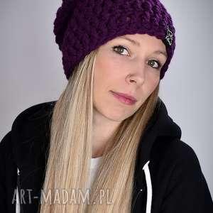 Prezent Czapka Mono 23, czapa, czapki, ciepła, zima