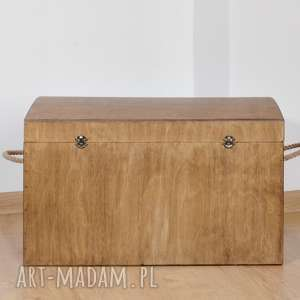 skrzynia drewniane pudełko do przechowywania dąb rustykalny, skrzynia