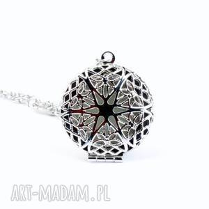 ALONE IN THE DARK - ROUND (SILVER), fluo, steampunk