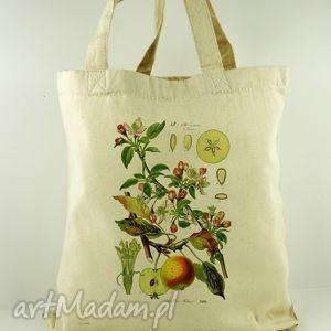 torba zielnik - płócienna, prezent, dzień, matki, ekologiczna, oryginalna, uszy na