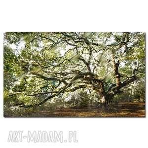 obraz drzewo 35 - 160x90cm na płótnie do salonu