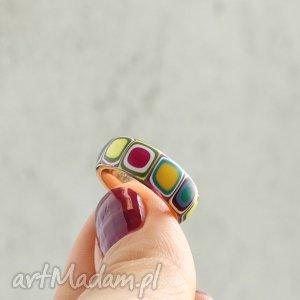 obrączki obrączka , obrączki, pierścionki, kolorowe, tęczowe, stal, złote biżuteria