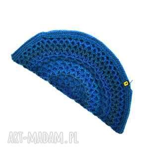 handmade torebka pierożek w błękitach
