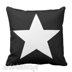 poduszka gwiazda home passion na czarnym 6291, gwiazda, home, star