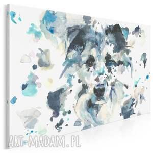 obraz na płótnie - pies dalmatyńczyk zwierzę 120x80 cm 700801