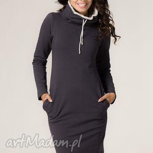 sukienki sukienka sportowa kaja-2, modna, wygodna, sportowa, elegancka, dresówka