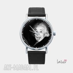 zegarek z grafiką einstein, fizyka, naukowiec, geek, prezent, nauka, teoria zegarki