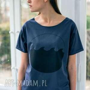 wave oversize t-shirt, oversize, tshirt, bawełna, casual, moda, fashion ubrania