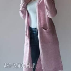 Kardigan, płaszczyk damski swetry feltrisimi długi, dzianinowy