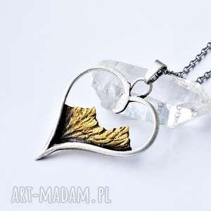 naszyjnik z miłości do gór, naszyjnik góry, srebrny, prezent