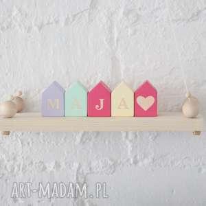 klocki domki, klocki, drewniane, domek, drewniany, unikalny prezent