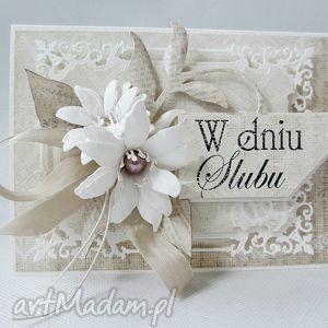 handmade scrapbooking kartki w dniu ślubu
